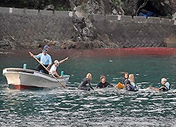 2007 news 071029 1 1 Surfers Expose Taiji Pilot Whale Slaughter