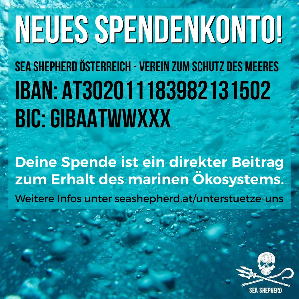 neues Spendenkonto